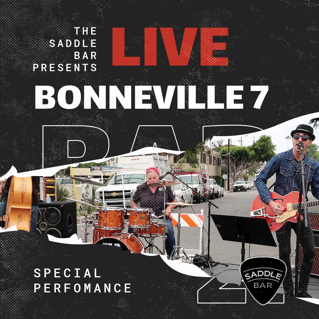 Thursday, September 2nd, 2021 - 9pm to Midnight - Bonneville 7 - **LIVE**