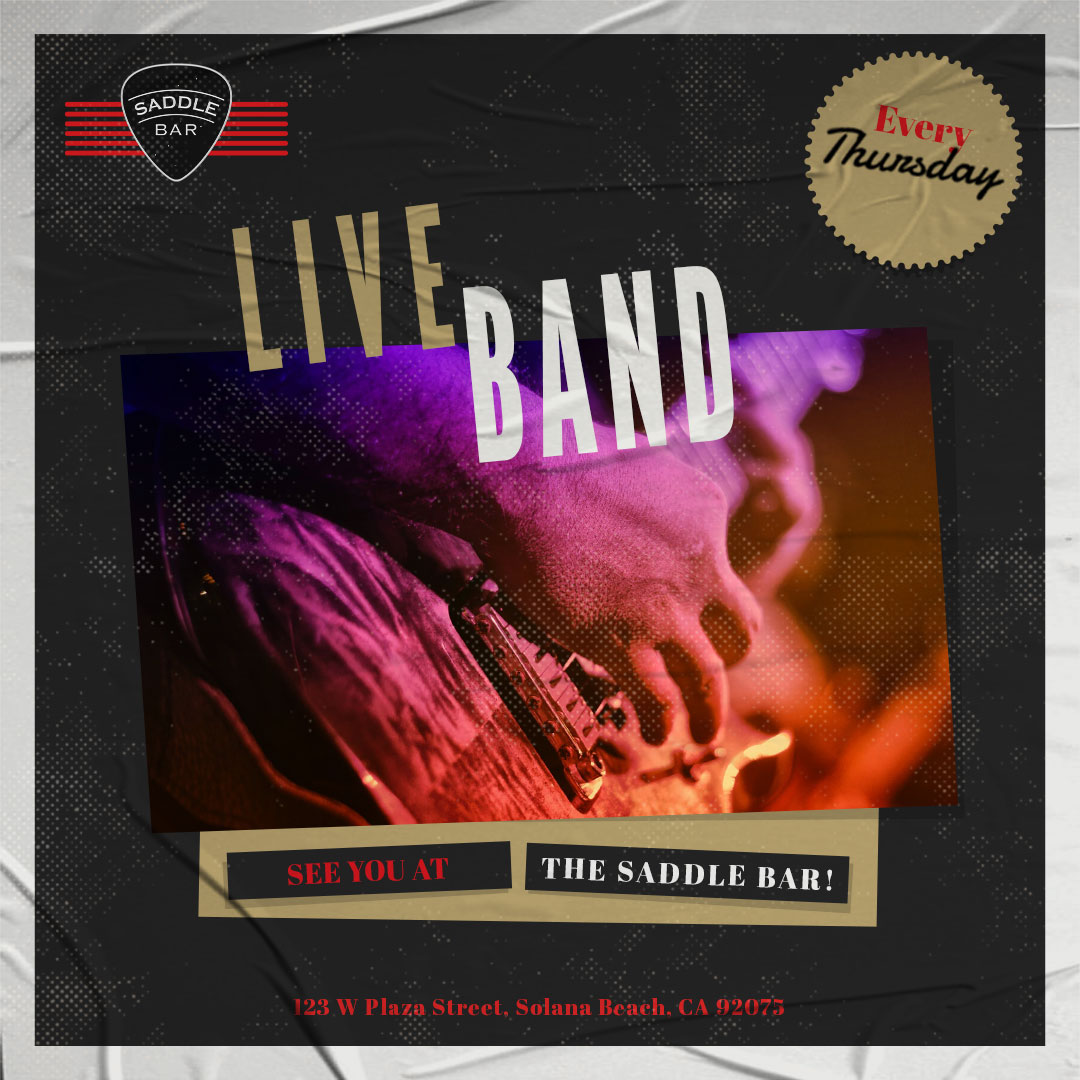 EVERY Thursday - 2021 - 9pm to Midnight  - **LIVE BAND**